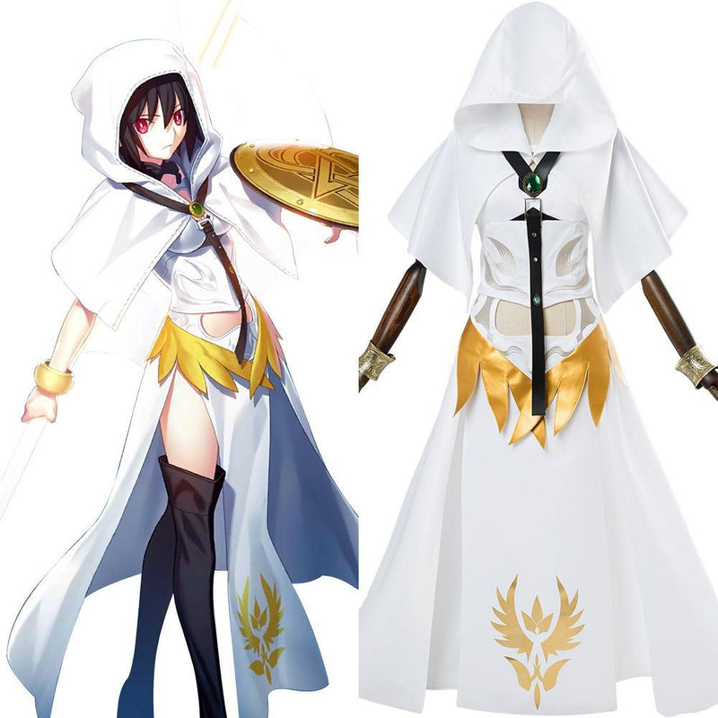 Fate Grand Order Lancer Valkyrie Ortlinde Cosplay Costume