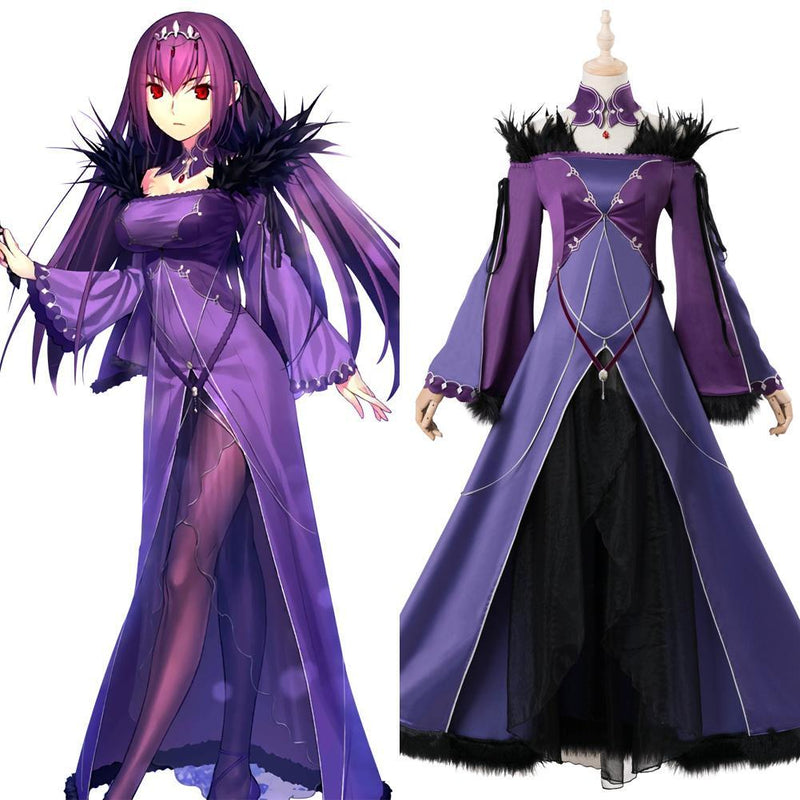 Fate Grand Order Scathach Skadi Cosplay Costume