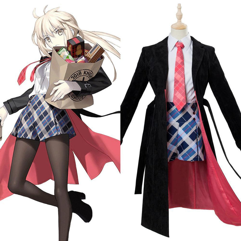 Fate Grand Order Altria Pendragon Cosplay Costume Third Anniversary Outfit