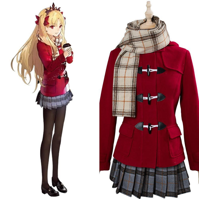 Fate Grand Order Ereshkigal Winter Caual Wear Cosplay Costume