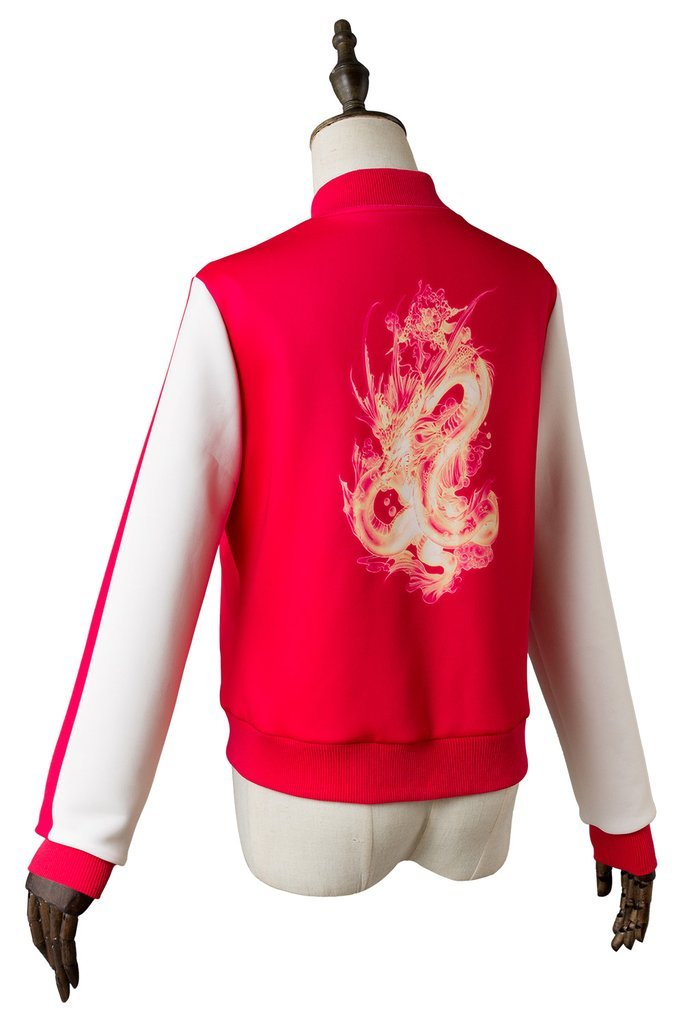 Ralph Breaks The Internet Mulan Coat Cosplay Costume