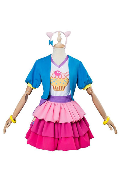 My Little Pony Pinkie Pie Human Cosplay Costume