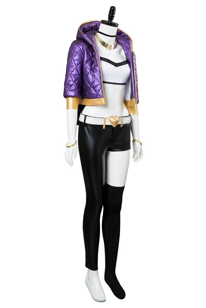 KDA League Of Legends The Rogue Assassin Akali Skin Cosplay Costume