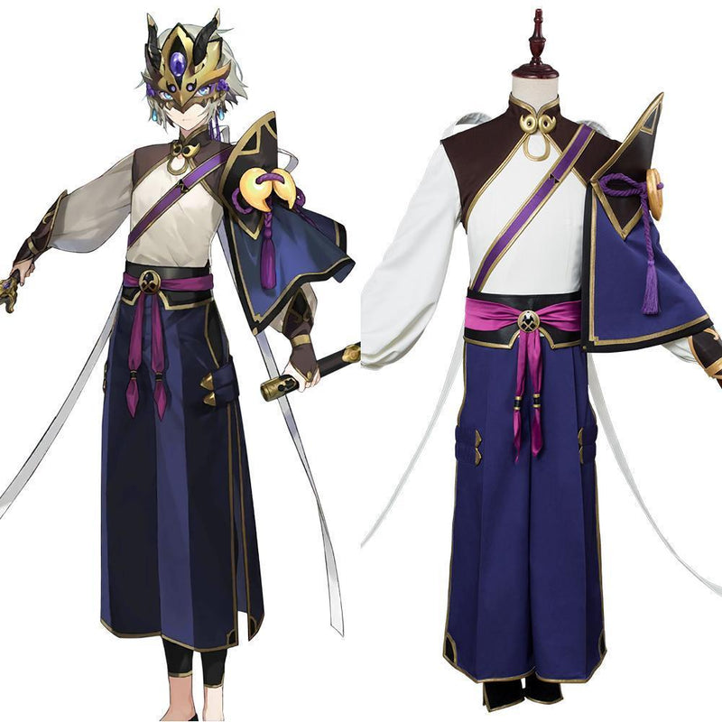 Fate Grand Order Lang Lin Wang Outfit Cosplay Costume