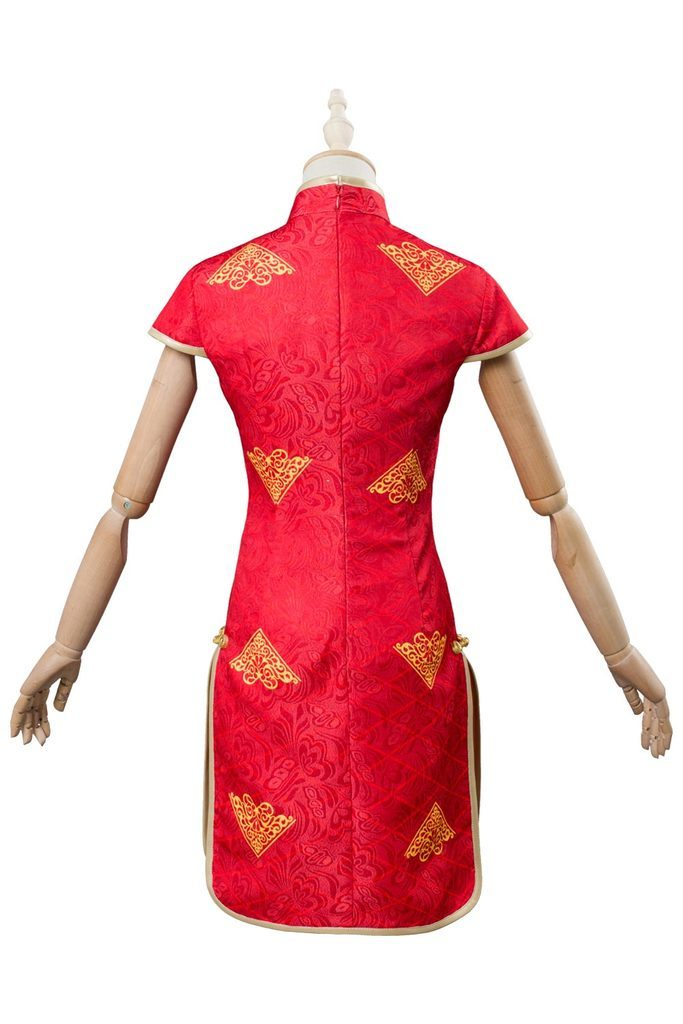 Fate Extella Link Nero Saber Cheongsam Red Dress Cosplay Costume