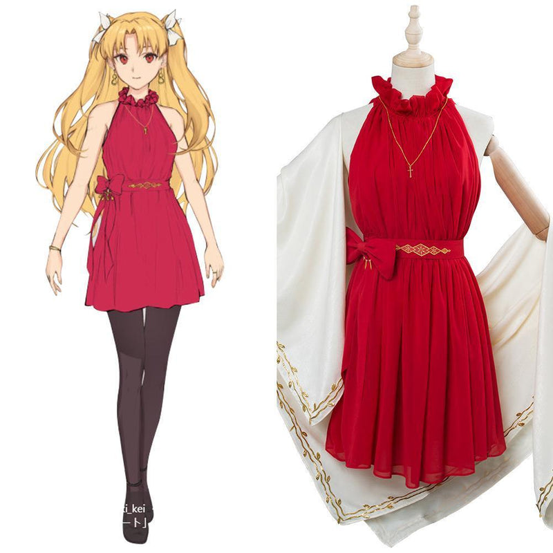 Fate Grand Order Ereshkigal Cosplay Costume Valentine Outfit