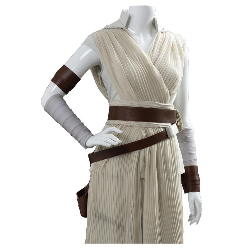 Star Wars The Rise Of Skywalker Rey Outfit Dress Cosplay Costume