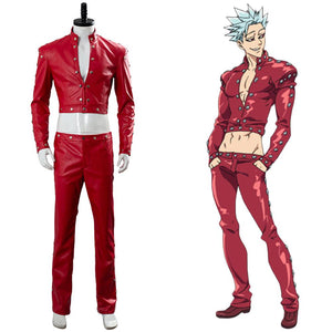 The Seven Deadly Sins Nanatsu No Taizai Wrath Of The Gods Ban Suit Cosplay Costume