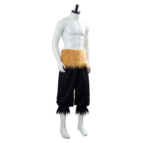 Pants Hashibira Inosuke Demon Slayer Kimetsu No Yaiba Cosplay Costume
