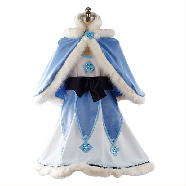 Overwatch Magic Girl Mei Cosplay Costume