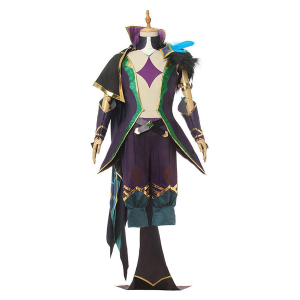 Lol League Of Legends Star Guardian Rakan Male Cosplay Costume