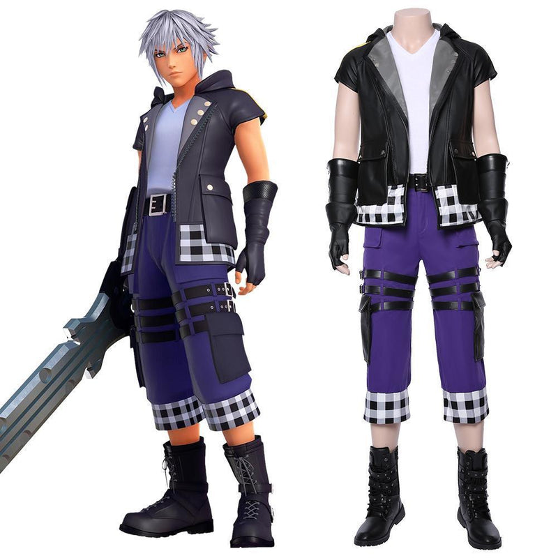 Kingdom Hearts Iii Riku Outfit Cosplay Costume 1