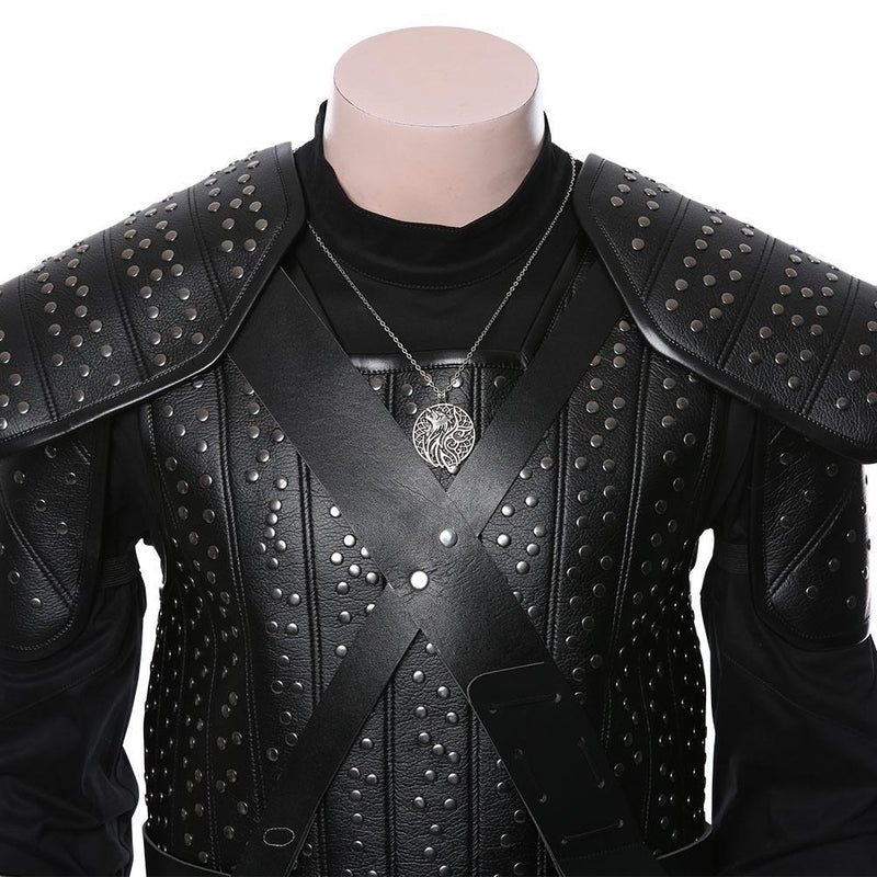 The Witcher Cavill Geralt Of Rivia Uniform Cosplay Costume