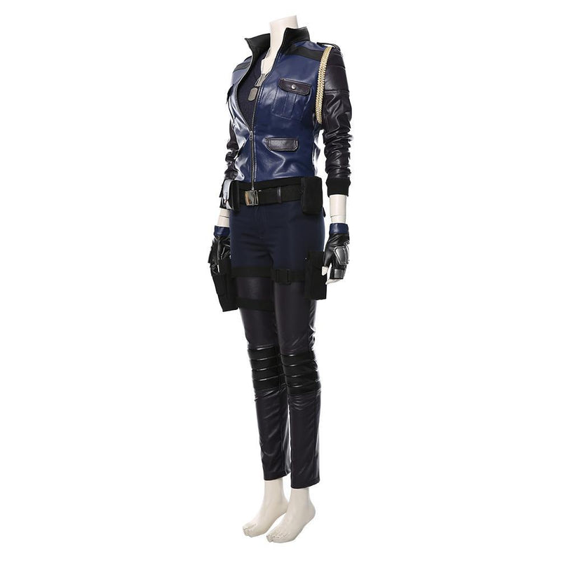 Mortal Kombat 11 mk11 Sonya Suit Cosplay Costume