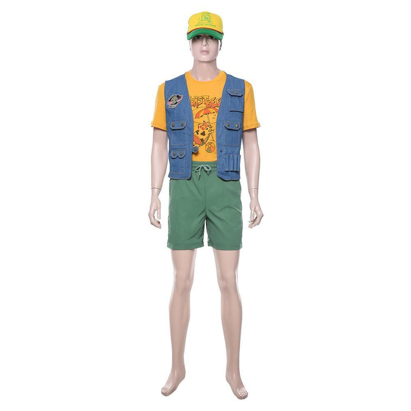 Stranger Things Season 3 Dustin Henderson Outfit Cosplay Costume