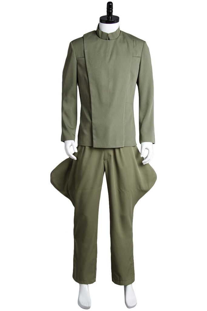 Star Wars Imperial Officer Olive Green Costume Uniform