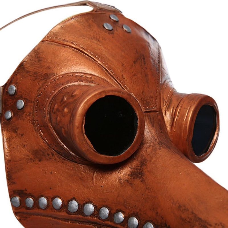 Plague Doctor Bird Face Cover Latex Long Nose Beak Cosplay Steampunk Halloween Costume Props