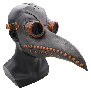 Plague Doctor Mask Long Nose Bird Beak Steampunk Halloween Costume Props Mask