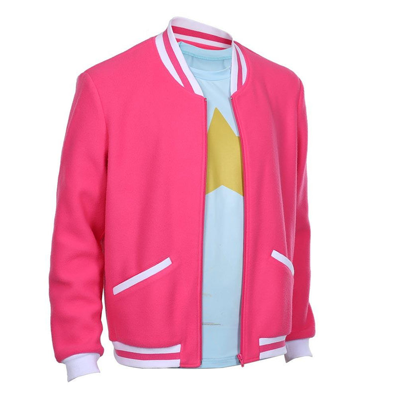 Steven Universe The Movie Steven Universe Adult Zip Up Jacket Coat Halloween Carnival Costume Cosplay Costume