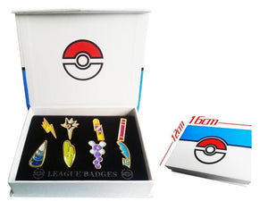 Pokemo Brooch Pin Badge Set Free Ship