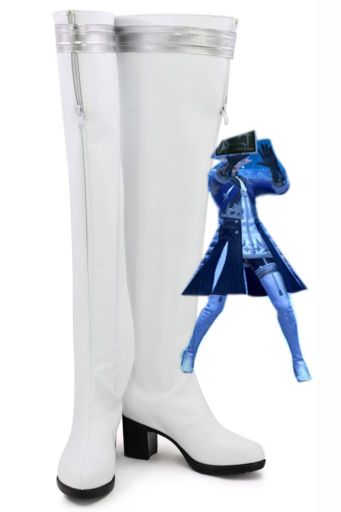 Final Fantasy Ff14 Alphinaud Leveilleur Boots Cosplay Shoes