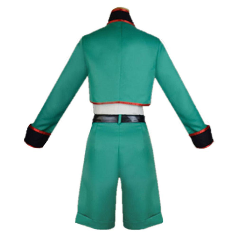 Hunter X Hunter Gon Freecss Men Top Short Outfit Halloween Carnival Costume Cosplay Costume
