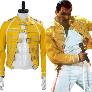 Queen Freddie Mercury Cosplay Costume Coat