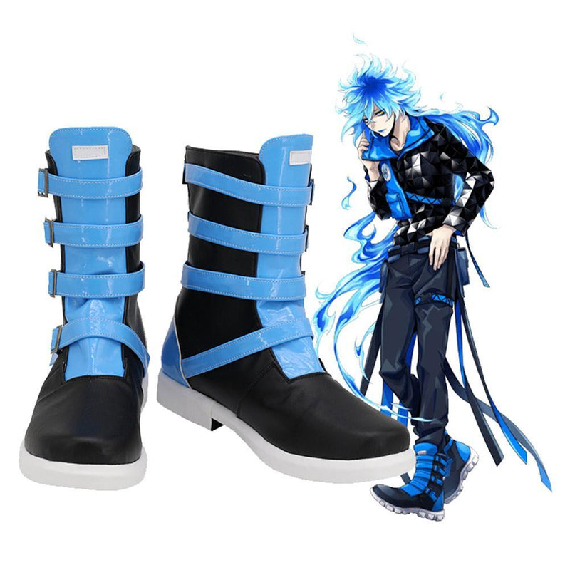 twisted wonderland idia shroud halloween carnival boots cosplay shoes