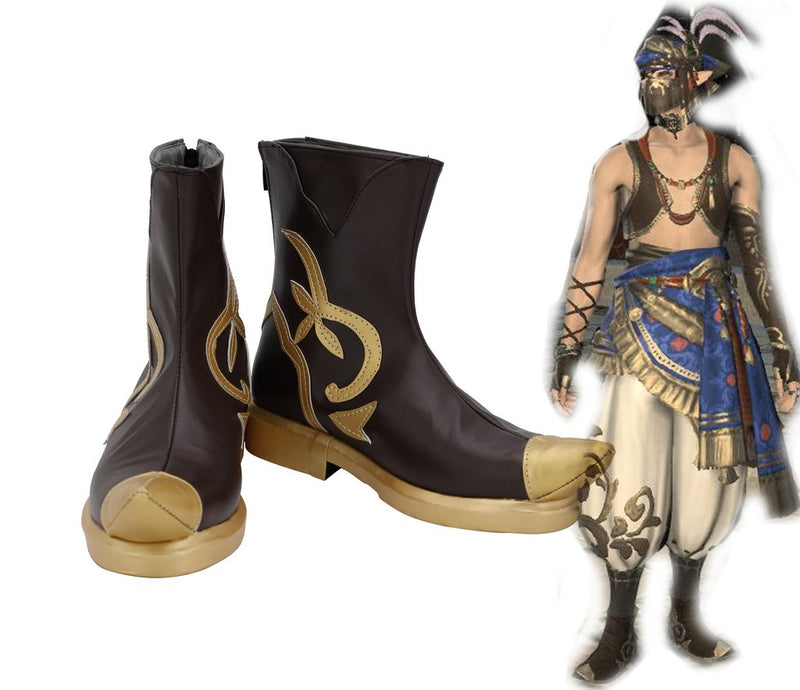Final Fantasy Ff14 Ver B Cosplay Shoes