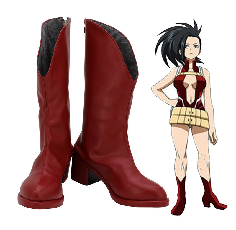 Boku No Hero Academia My Hero Academia Momo Yaoyorozu Cosplay Shoes
