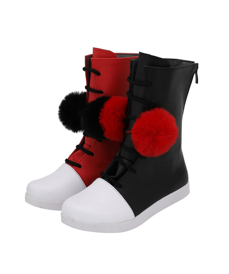 Dc Comics Harley Quinn Cosplay Boots