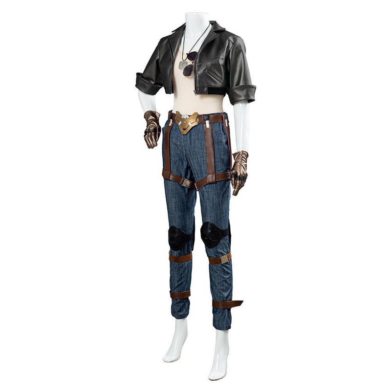 Overwatch Ow Pharah Fareeha Amari Skin Outfit Halloween Carnival Costume Cosplay Costume
