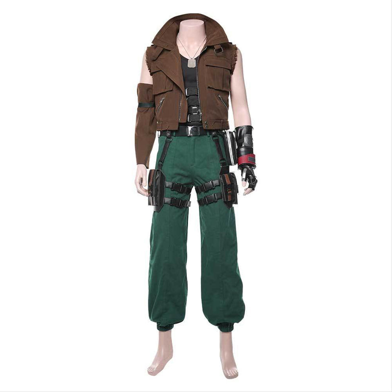 Final Fantasy VII Remake FF7 Barret Wallace Cosplay Costume