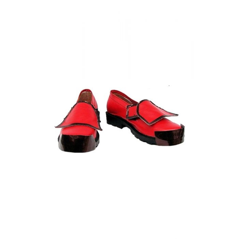 Guiltygear Cosplay Shoes Red Custom Made