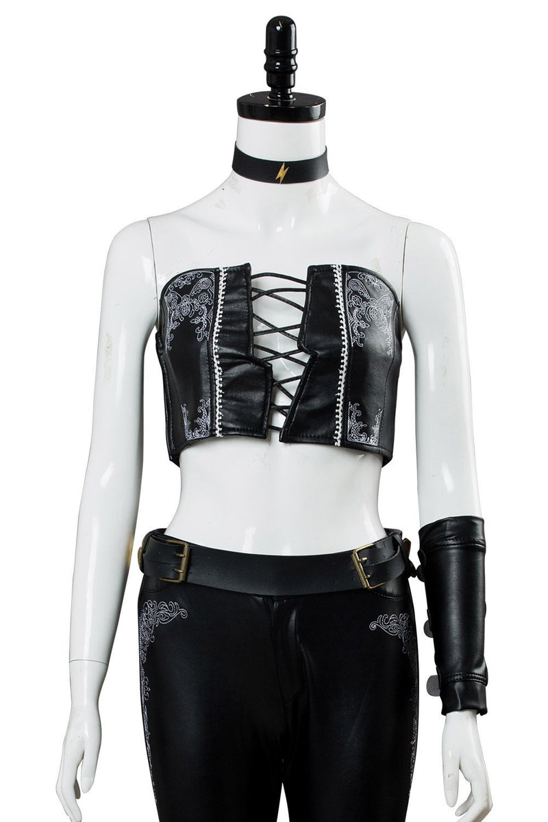 Dmc Devil May Cry 5 V Dmc5 Trish Outfit Cosplay Costume Female Gaming Halloween Cosplay