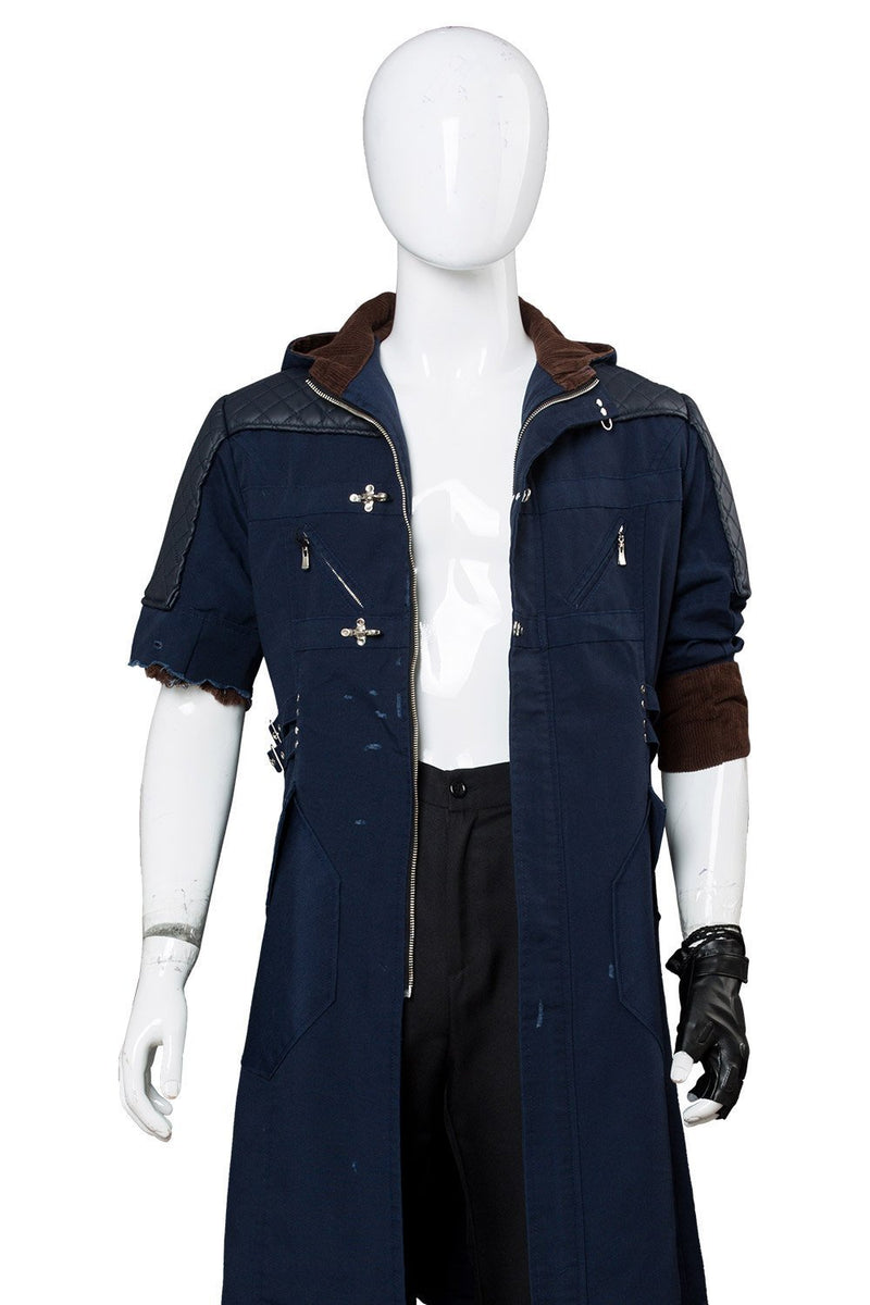Dmc Devil May Cry 5 V Nero Outfit Cosplay Costume Damaged Version
