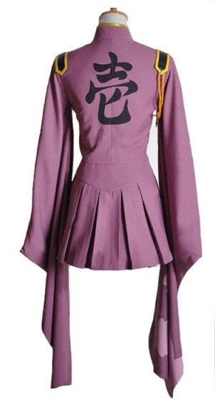 Vocaloid Senbon Sakuras Zakura Miku Cosplay Costume Uniform Dress