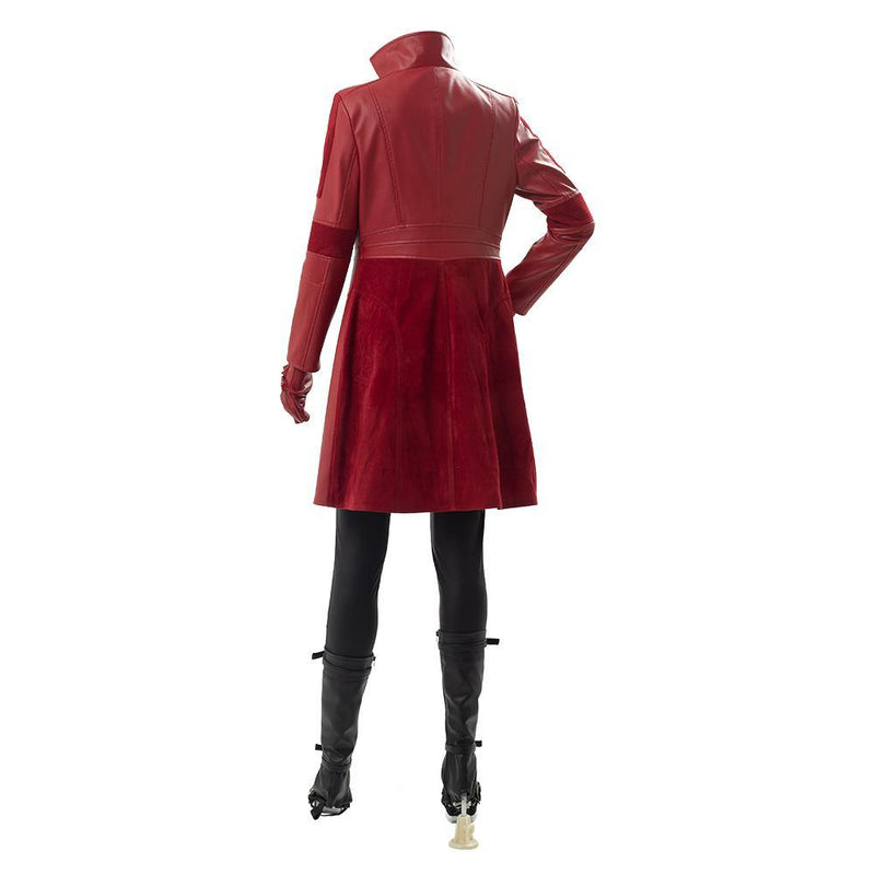 Captain America Civil War Scarlet Witch Cosplay Costume