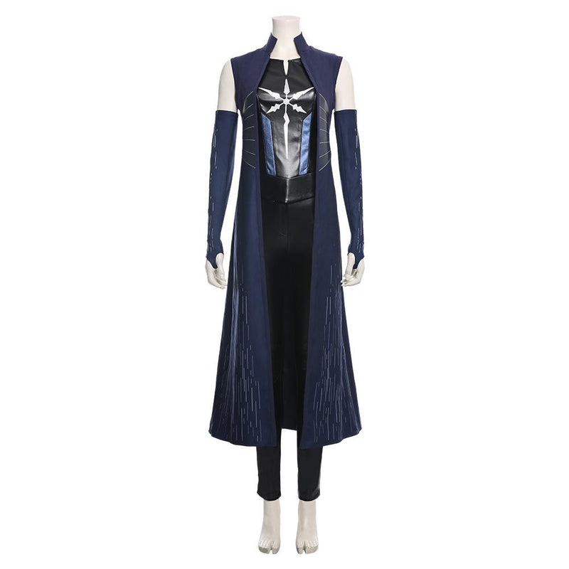 The Flash Season 6 Killer Frost Caitlin Snow Cosplay Costume 1