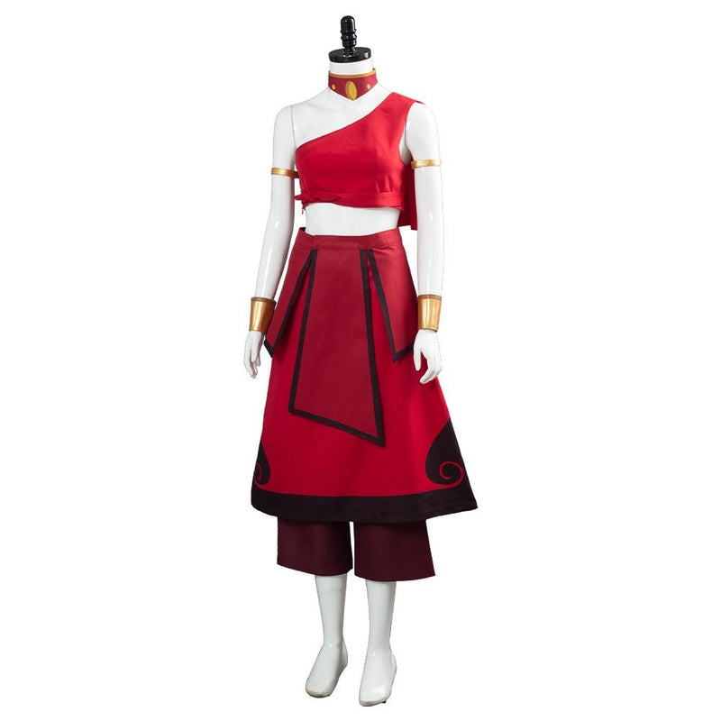 Avatar The Last Airbender Katara Women Dress Outfit Halloween Carnival Costume Cosplay Costume