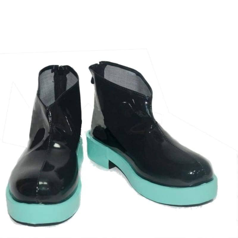 Vocaloid Hatsune Miku Black Cosplay Shoes