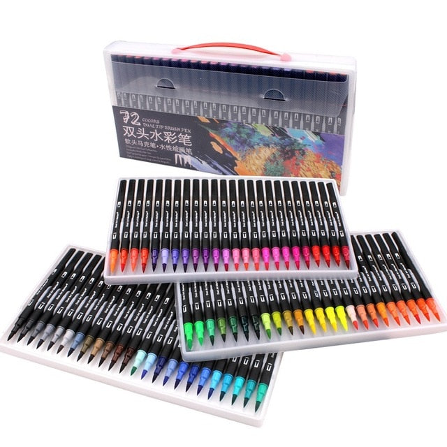 Watercolor Marker Painting Set