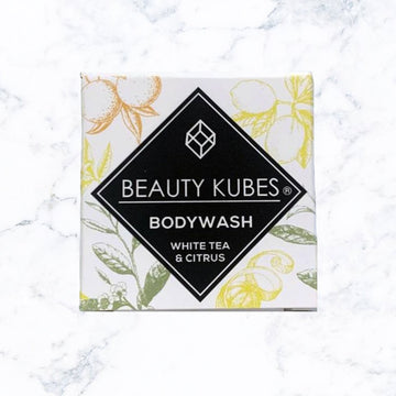 Beauty Kubes Body Wash Cubes - White Tea & Citrus