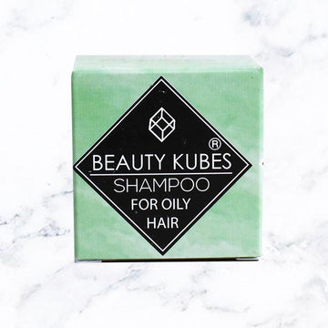 Beauty Kubes Shampoo Plastic Free Oily Hair