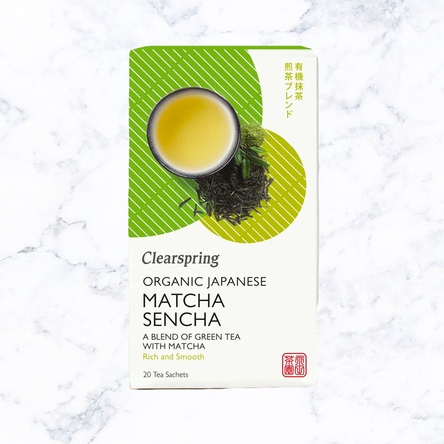 Clearspring Organic Japanese Matcha Ginger Green Tea