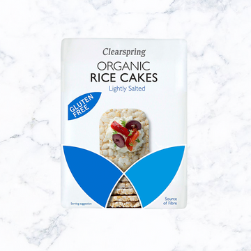Clearspring Organic Lightly Salted Rice Cake