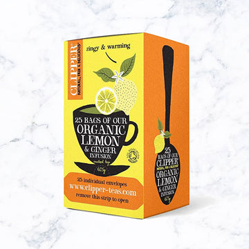 Clippers Organic Infusion Lemon & Ginger