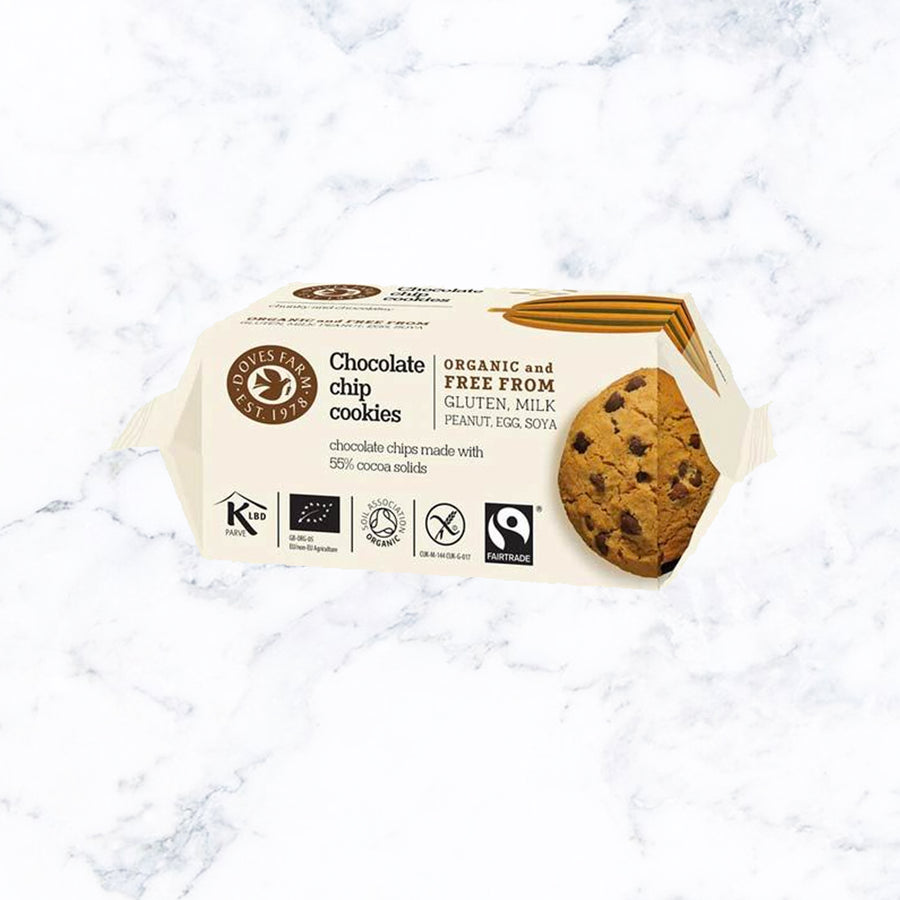 Doves Farm Organic Chocolate Chip Cookies