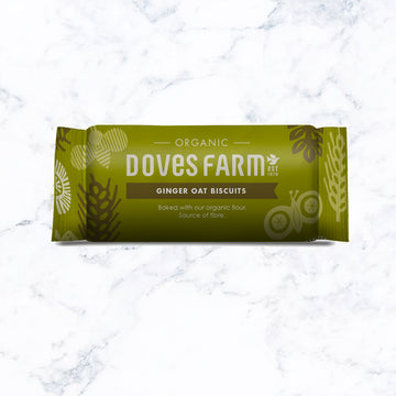 Doves Farm Ginger Oat Biscuits