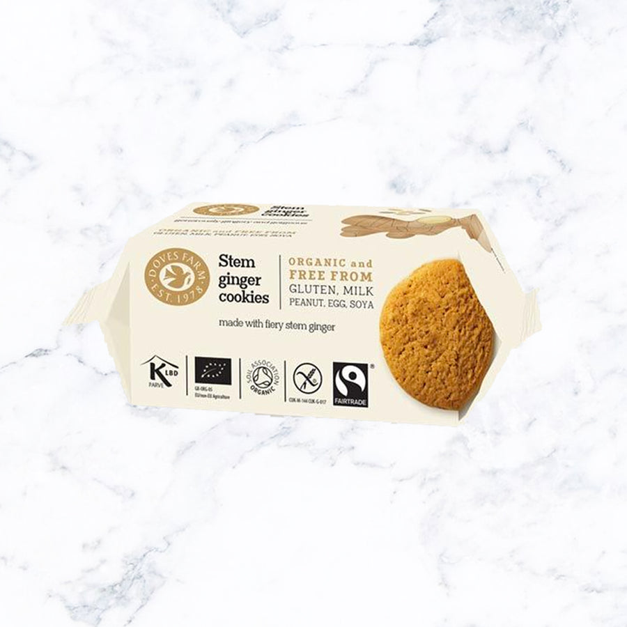 Doves Farm Organic Stem Ginger Cookies